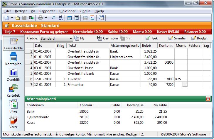 Screenshot af SummaSummarum
