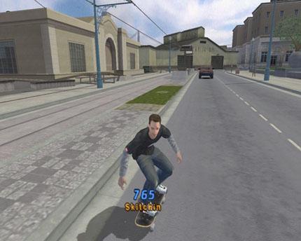 Screenshot af Tony Hawk Pro Skater 4