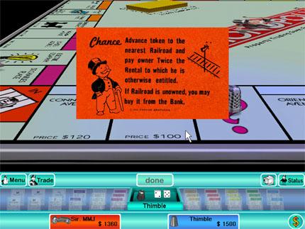 Screenshot af Monopoly