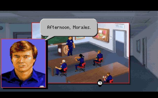 Screenshot af Police Quest 3 - The Kindred