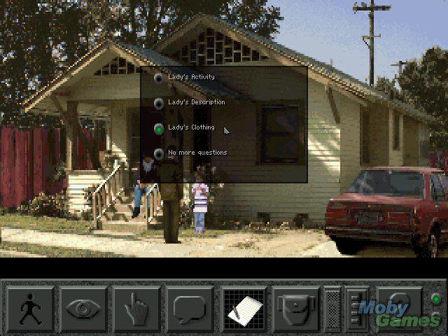 Screenshot af Police Quest 4 - Open Season