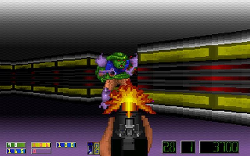 Screenshot af Corridor 7 Alien Invasion