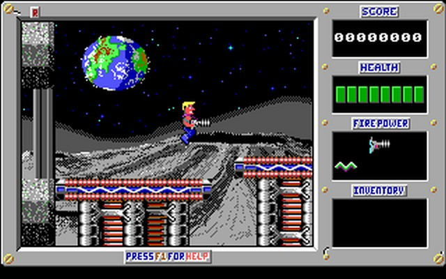 Screenshot af Duke Nukem  - Mission Moonbase