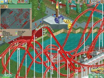 Screenshot af Roller Coaster Tycoon 2