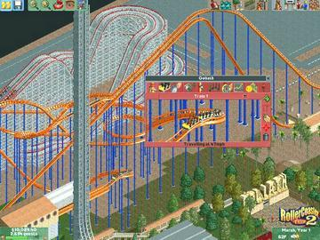 Screenshot af Roller Coaster Tycoon 2