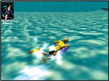 Screenshot af Mike Stewart's 360° Beach Bodyboarding