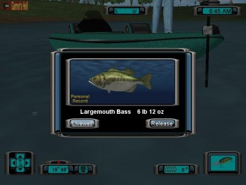 Screenshot af Pro Bass Fishing 2003