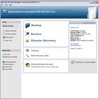 Screenshot af Genie Backup Manager Professional