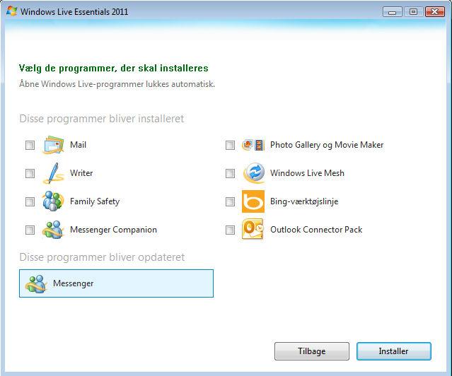 Screenshot af Windows Live Messenger (deustch)