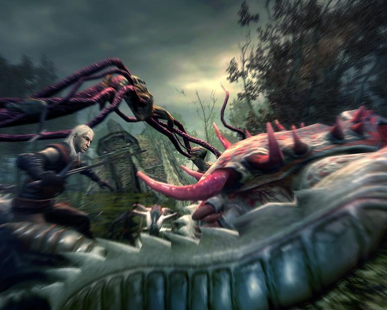 Screenshot af The Witcher