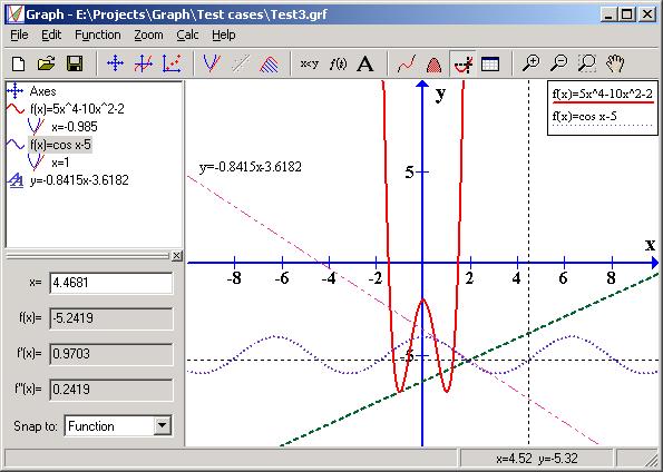 Screenshot af Graph