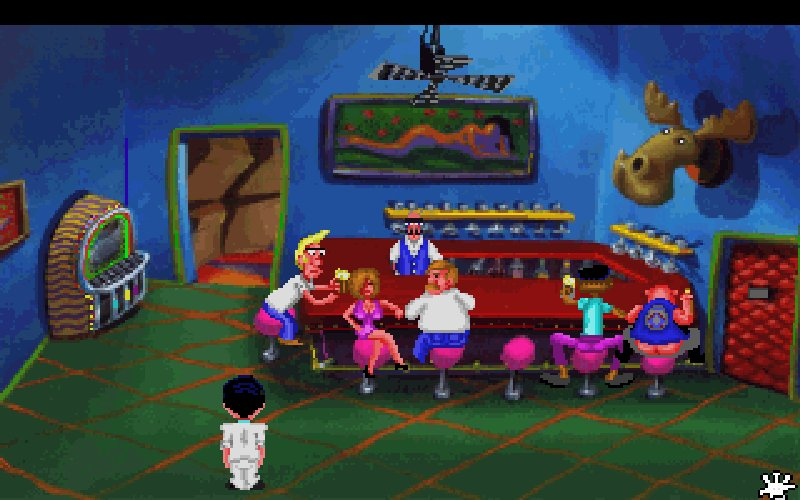 Screenshot af Leisure Suit Larry 1 - In the Land of the Lounge Lizards