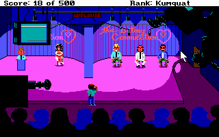 Screenshot af Leisure Suit Larry 2 - Goes Looking for Love