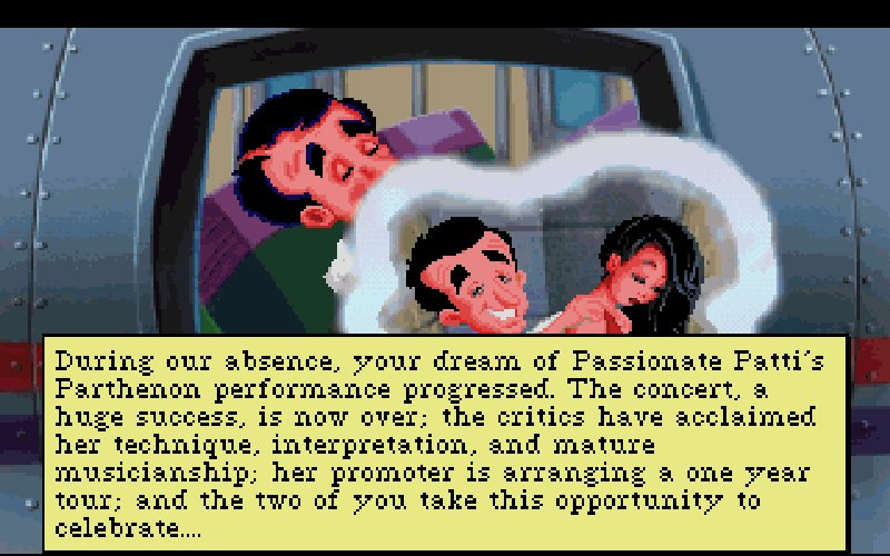Screenshot af Leisure Suit Larry 5  - Passionate Patti Does a Little Undercover Work