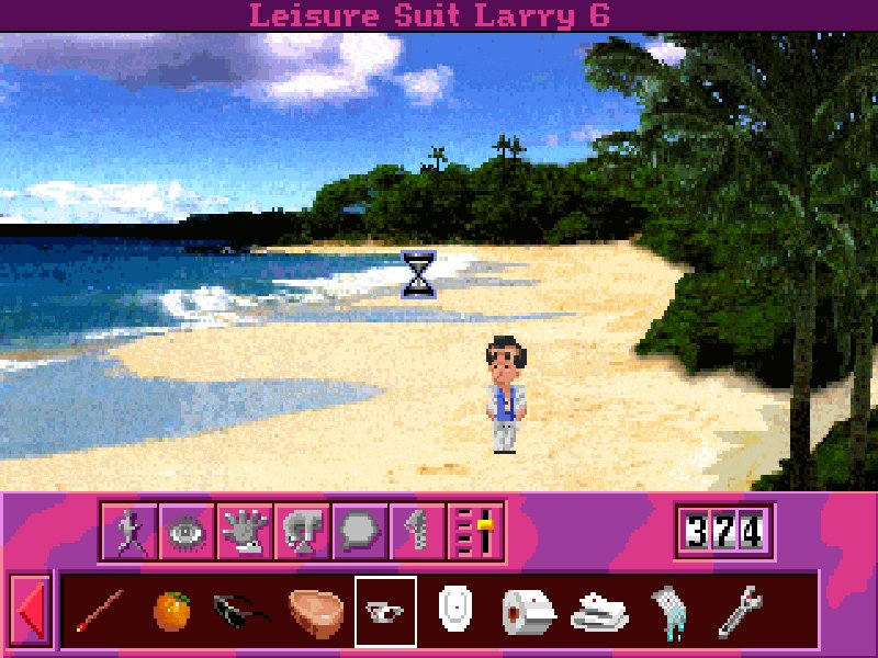 Screenshot af Leisure Suit Larry 6  - Shape Up or Slip Out!
