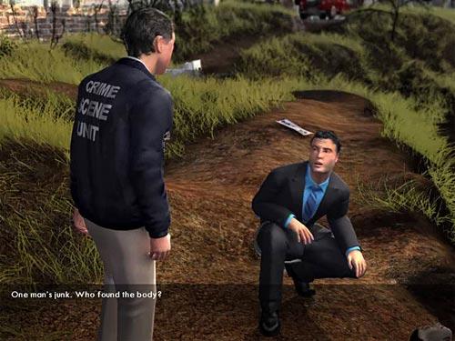 Screenshot af Law & Order Dark Obsession