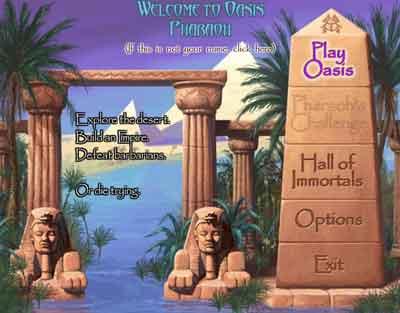 Screenshot af Oasis