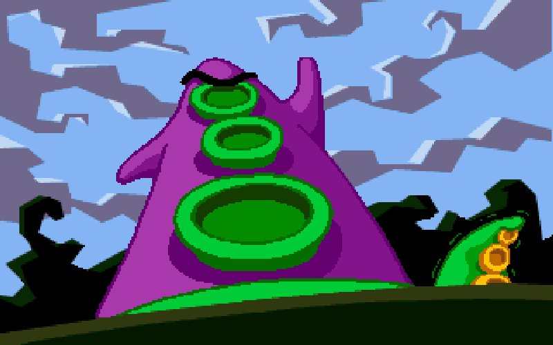 Screenshot af Day of the Tentacle