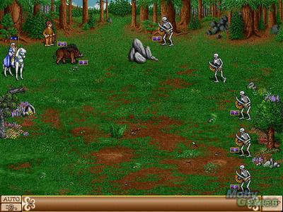 Screenshot von Heroes of Might and Magic 2