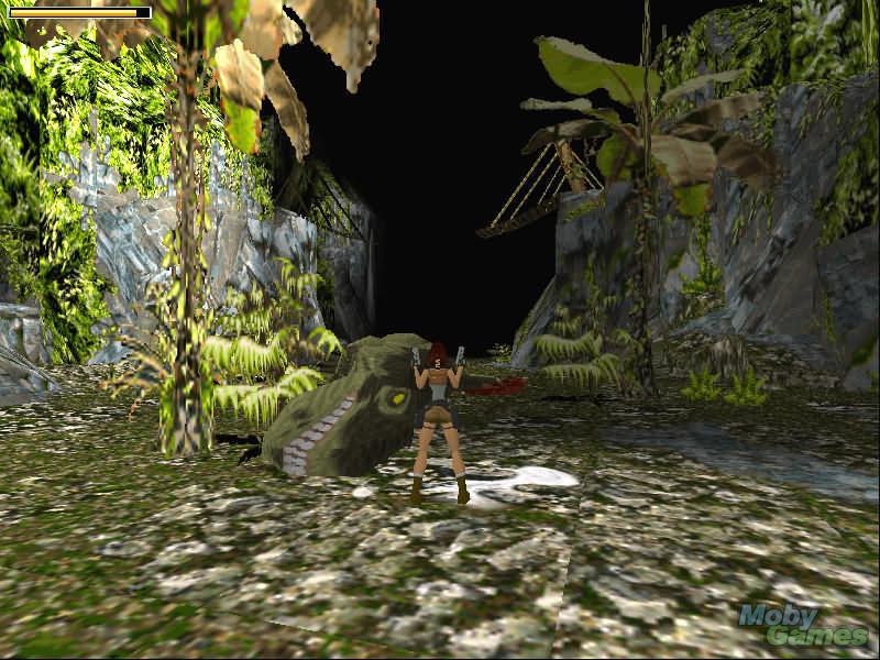 Screenshot af Tomb Raider