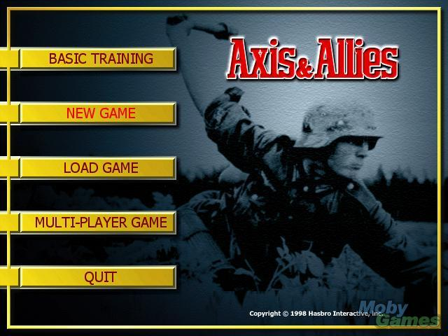 Screenshot von Axis & Allies