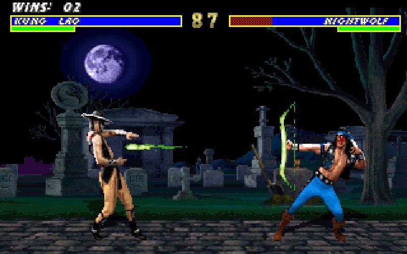 Screenshot af Mortal Kombat 3