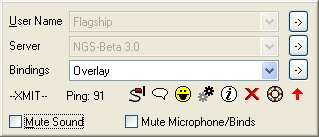 Screenshot von Ventrilo