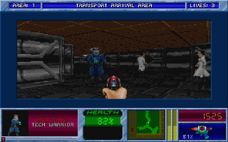 Screenshot af Blake Stone 2 -