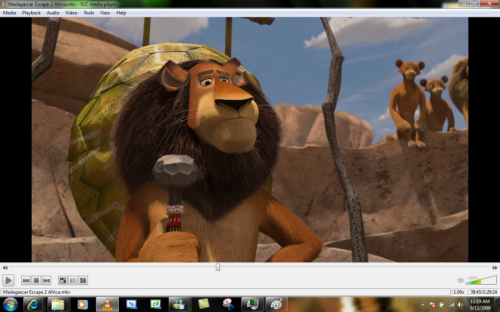 Screenshot von VLC Media Player