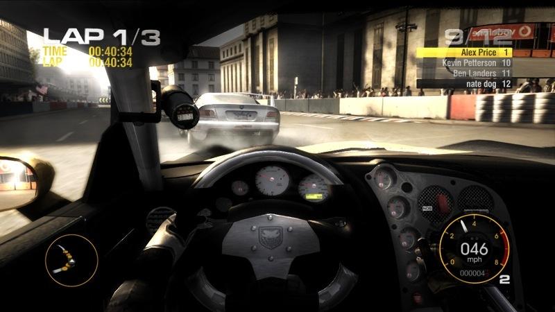 Screenshot af Race Driver GRID (TOCA)