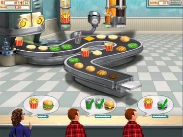 Screenshot af Burger Shop