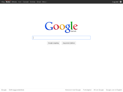 Screenshot von Google Chrome