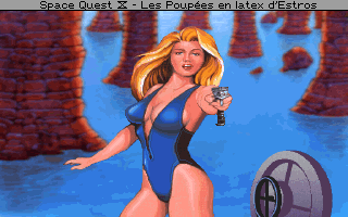Screenshot af Space Quest 4 - Roger Wilco and the Time Rippers