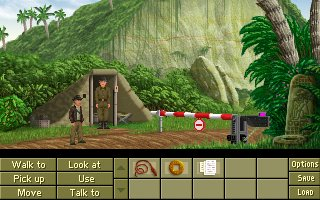 Screenshot af Indiana Jones and the Fountain of Youth