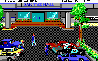 Screenshot af Police Quest 2 - The Vengeance