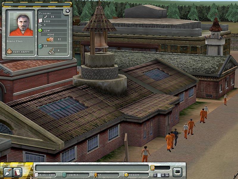 Screenshot af Prison Tycoon 1