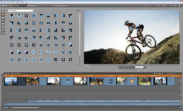 Screenshot af Pinnacle Studio HD Ultimate Collection