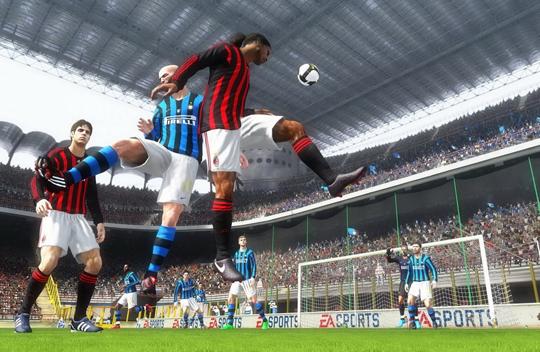 Screenshot af FIFA 10