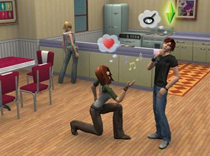 Screenshot af Sims 3