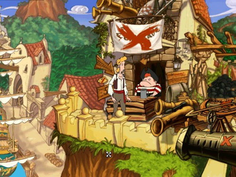 Screenshot af The Curse of Monkey Island