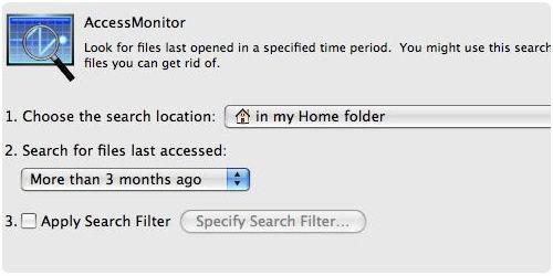 Screenshot af Spring Cleaning til Mac