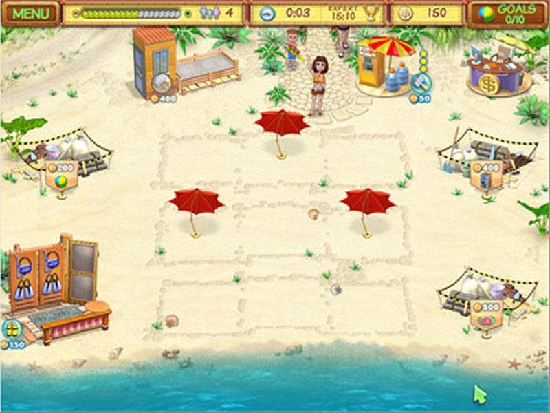 Screenshot af Beach Party Craze
