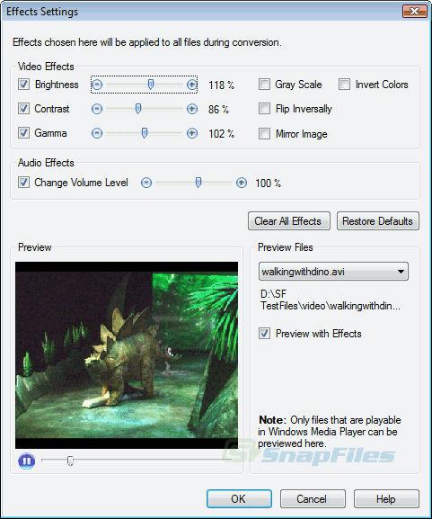 Screenshot af Digital Media Converter Pro