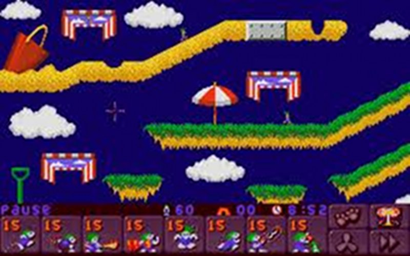 Screenshot af Lemmings 2: The Tribes
