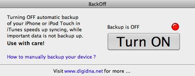 Screenshot af BackOff