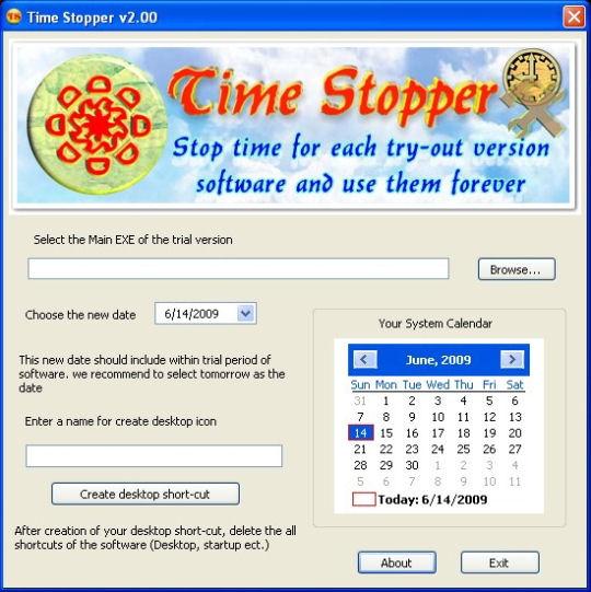 Screenshot von Time Stopper