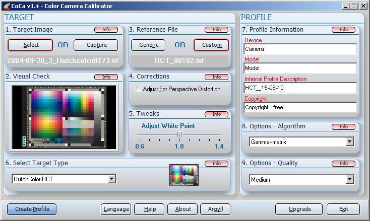 Screenshot af CoCa