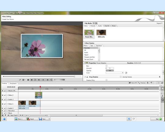 Screenshot af Nero Video Premium HD