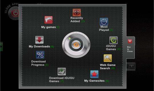 Screenshot af iGUGU GAMECORE