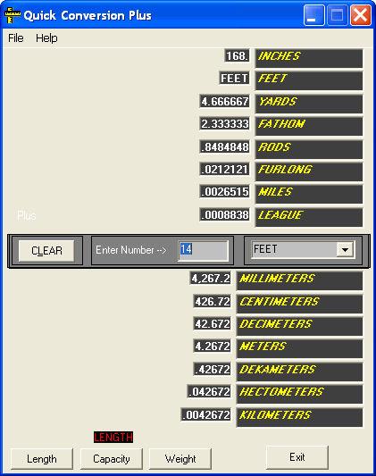 Screenshot af Breaktru quick conversion
